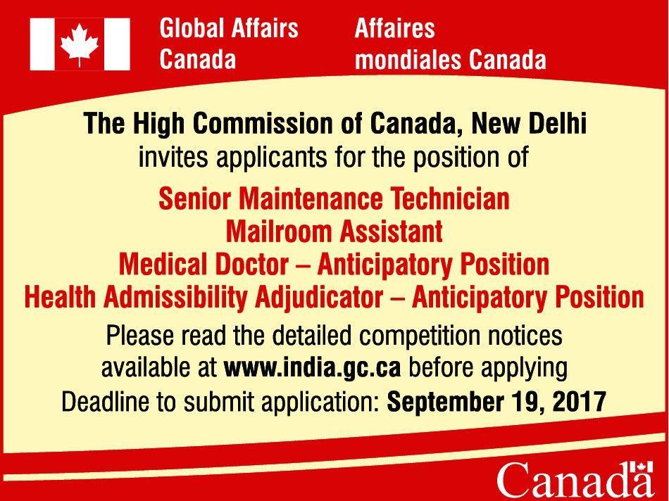 Job - Mailroom Assistant - New Delhi - Office Administration ...