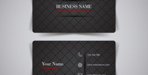 Business Name Card Format Business Name Card Template Business ...