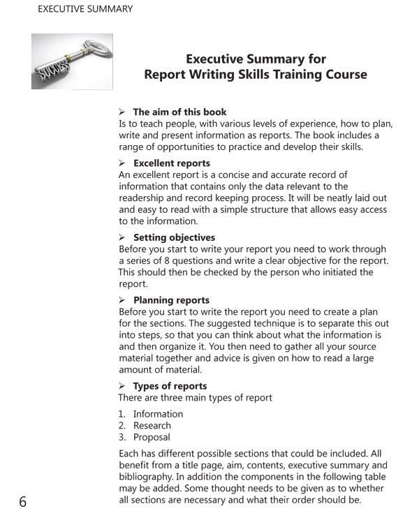 Report Writing Skills Training Course Book, Author - Dr Margaret ...
