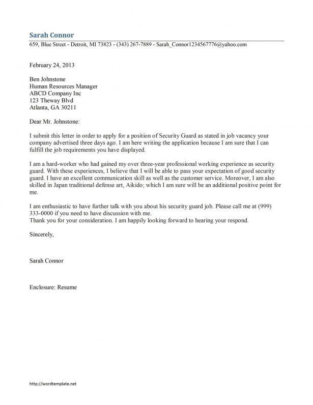 harvard cover letters
