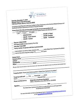 Sponsorship Form for 2017 Be Beautiful Be Yourself Fashion Show ...