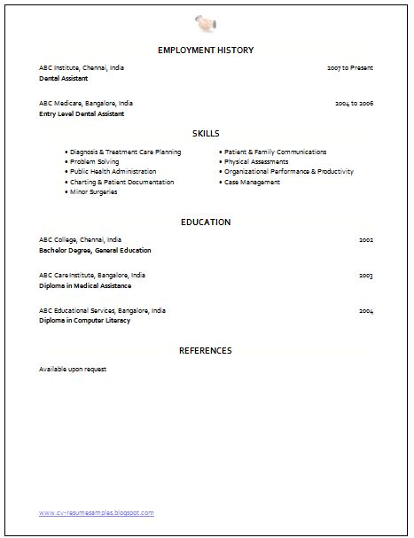 Medical Assistant Resume with No Experience | Resume Template Info