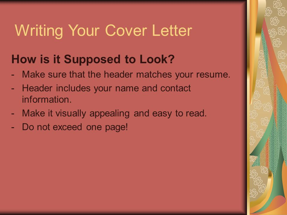 Cover Letters by Adrian O'Donnell Lado Management Consultants ...