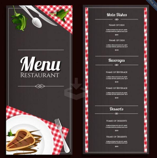 Top 35 Free PSD Restaurant Menu Templates 2017 - Colorlib