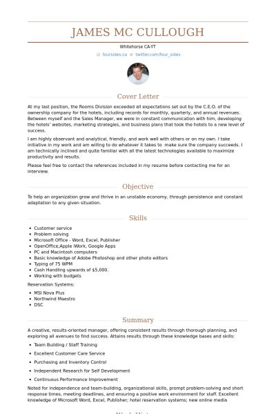 Division Manager Resume samples - VisualCV resume samples database
