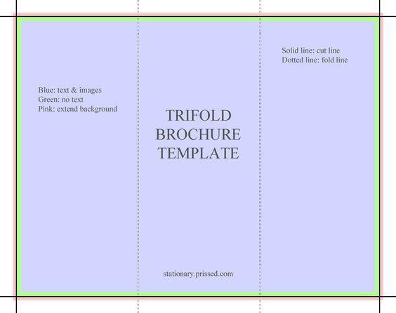 brochure templates free | ... Brochure Template (flyer, handout, 3 ...