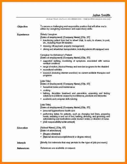 5+ job profile examples resume sample | ledger paper