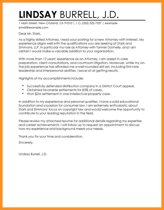 9+ law student cover letter samples - application leter
