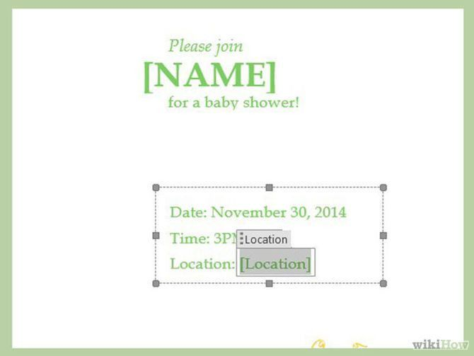 Baby Shower Invitation Templates Word, baby shower invitations ...
