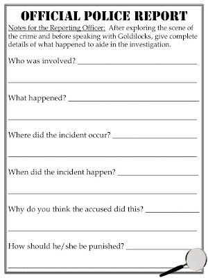 Best Photos of Police Statement Template - Police Report Template ...