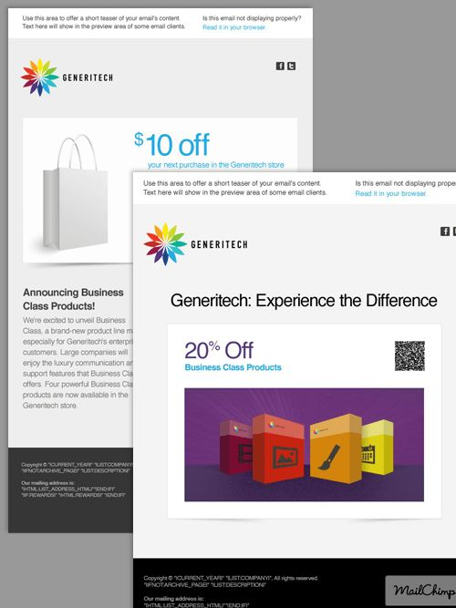 33 New Email Templates