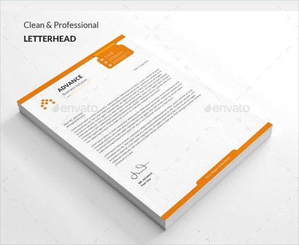 20+ Custom Letterhead Templates – Free Sample, Example Format ...