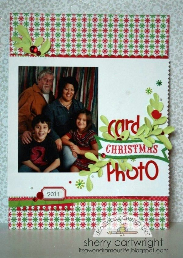 247 best Scrapbook layouts for Christmas album images on Pinterest ...
