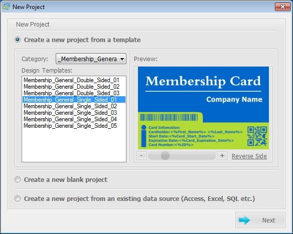 Create club membership cards with magnetic stripe technology and ...
