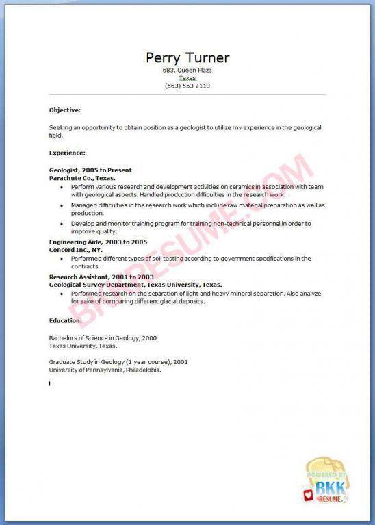 Petroleum Engineering Resume - cv01.billybullock.us