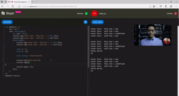 Skype launches integrated code editor for remote technical job ...