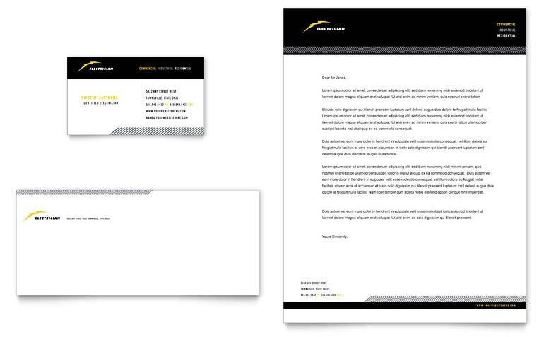 Construction Letterhead Templates Word Amp Publisher intended for ...