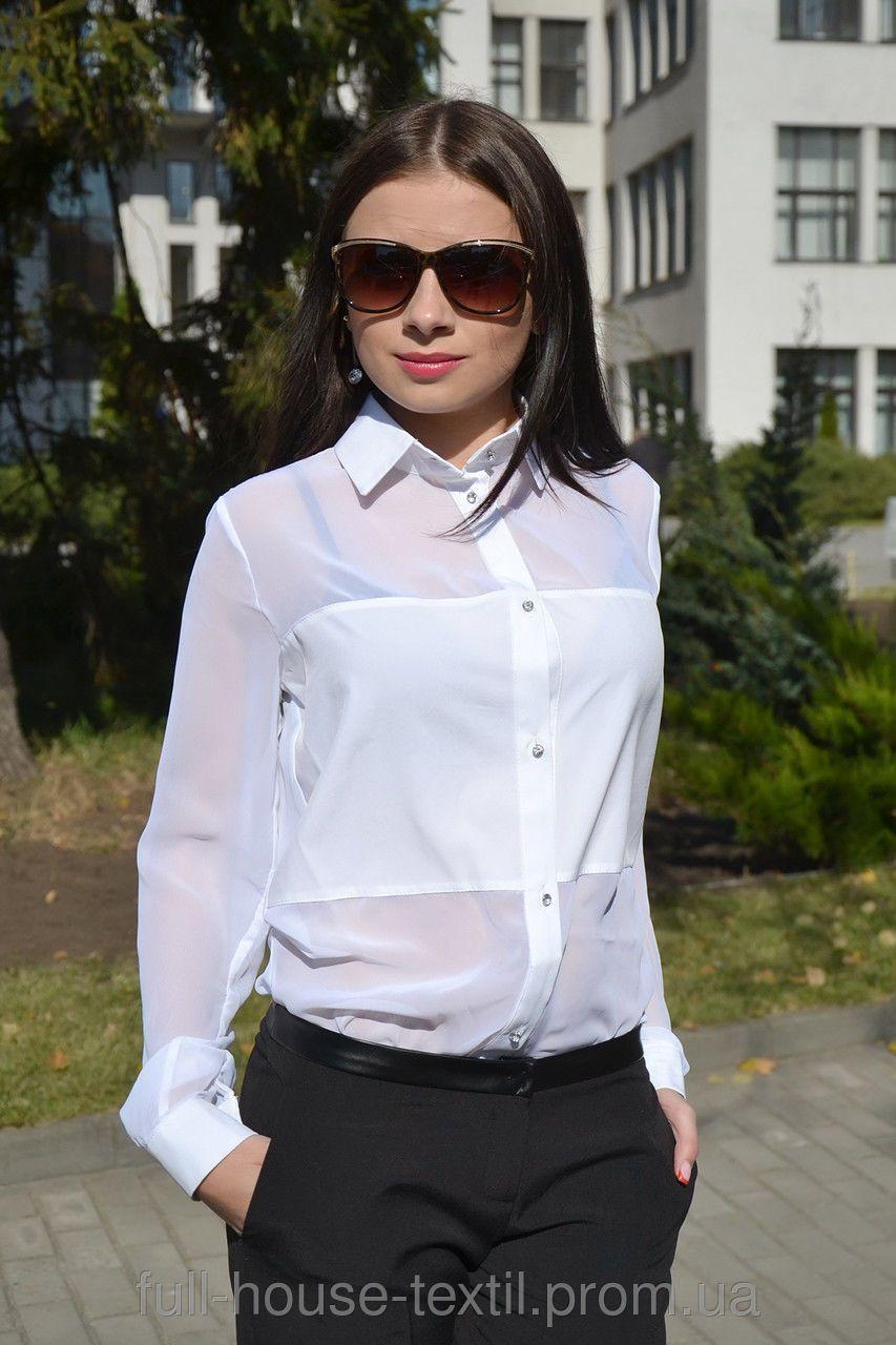 Красивые Блузки Из Шифона