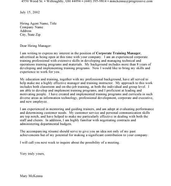 Download Professional Cover Letter Sample | haadyaooverbayresort.com