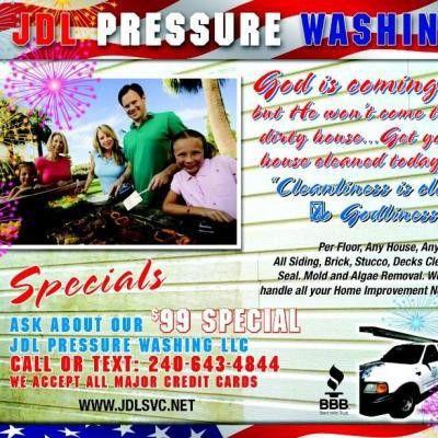 JDL Pressure Washing - Washington, DC