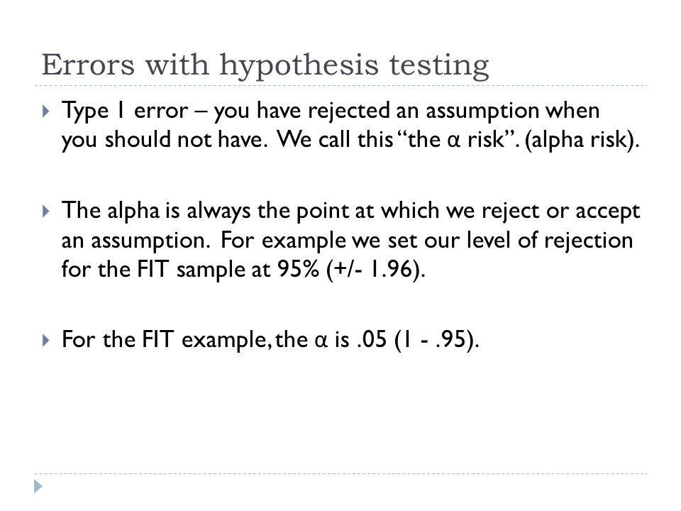 """Statistical Analysis – Chapter 6 """"Hypothesis Testing"""" Dr. Roderick ..."""