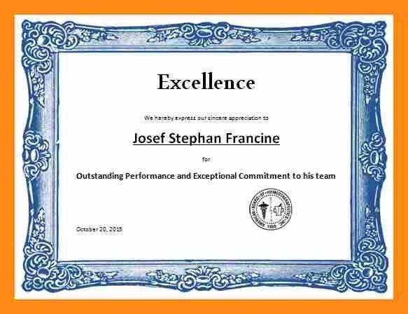 6+ sample award certificates | actor resumed