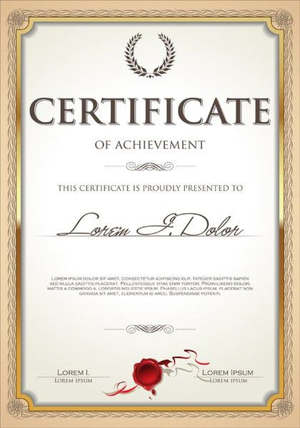 Certificate frame free vector download (6,204 Free vector) for ...