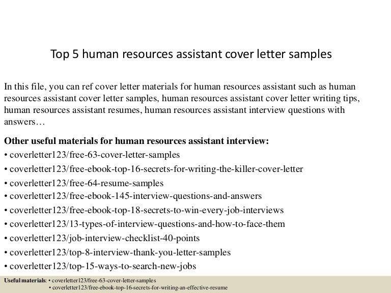 recruiter cover letter sample