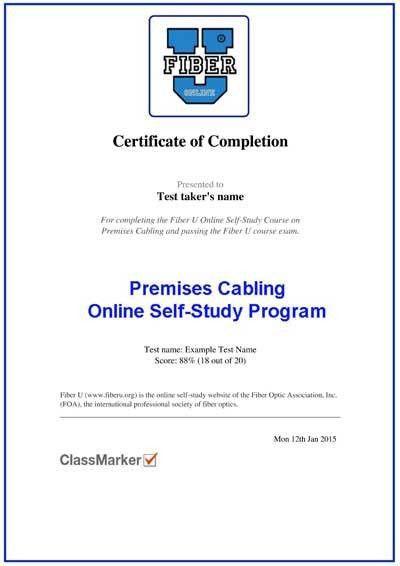 Fiber U - FOA Online Self-Study Programs About Fiber Optics And ...