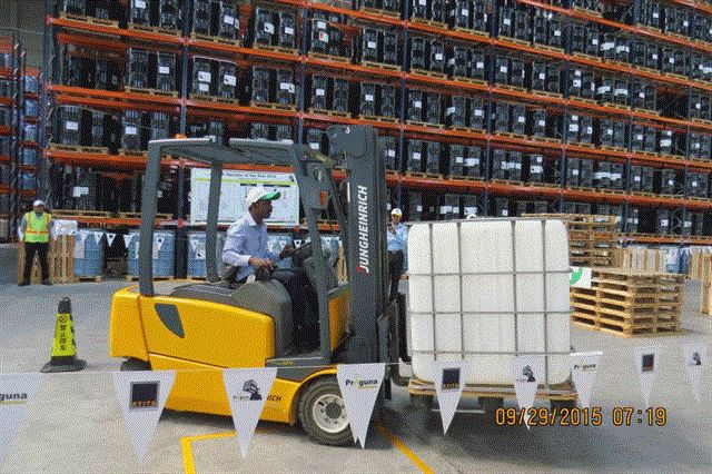 Praguna's Forklift Operator of the Year 2015 off to an electric ...