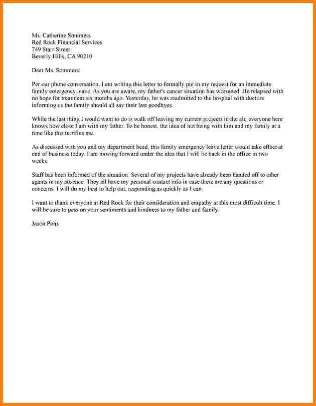 9+ sample leave letter   Incident report