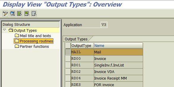 VF01 & output invoice via email error