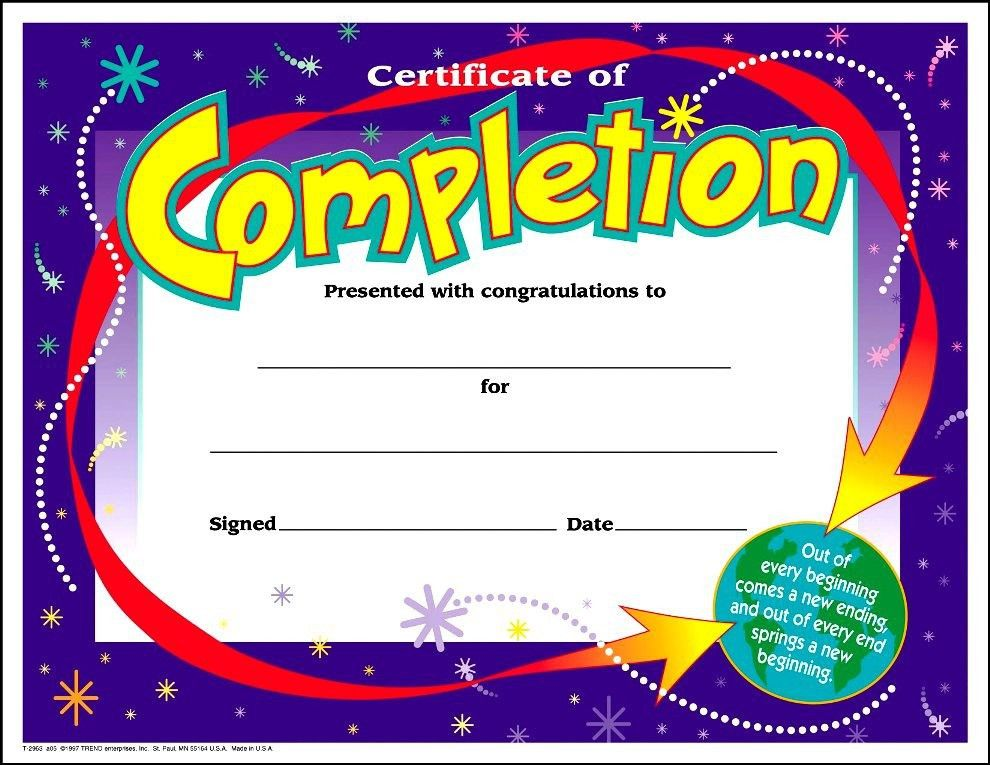 Free Kids Certificate Templates CertificateZet Free Templates For ...
