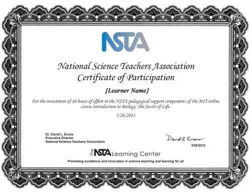 The NSTA Learning Center