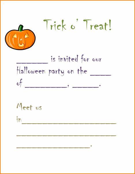 Free Halloween Party Invitation Templates - reduxsquad.Com