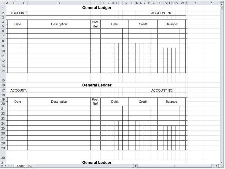 Best 25+ General ledger ideas on Pinterest | Accounting major ...