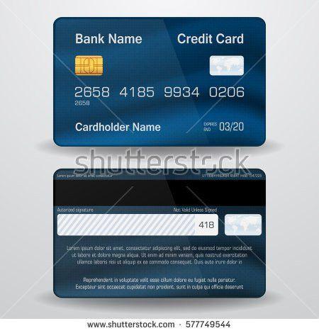Card Credit Designs Sample Stockbilder und Bilder und ...