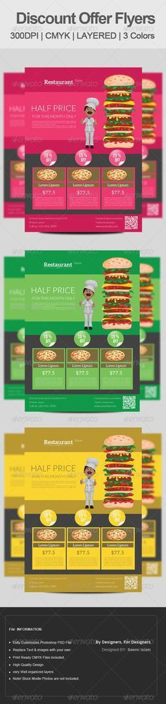 Chief Cooking Lessons Flyer | Business flyers, Flyer template and ...