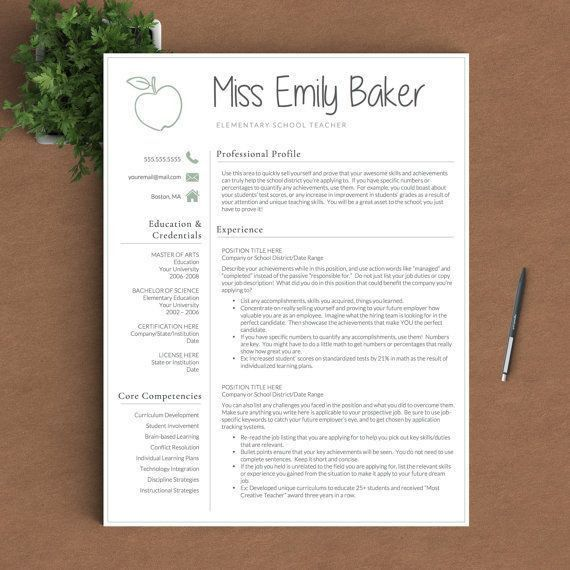 122 best Resume Templates images on Pinterest | Resume templates ...
