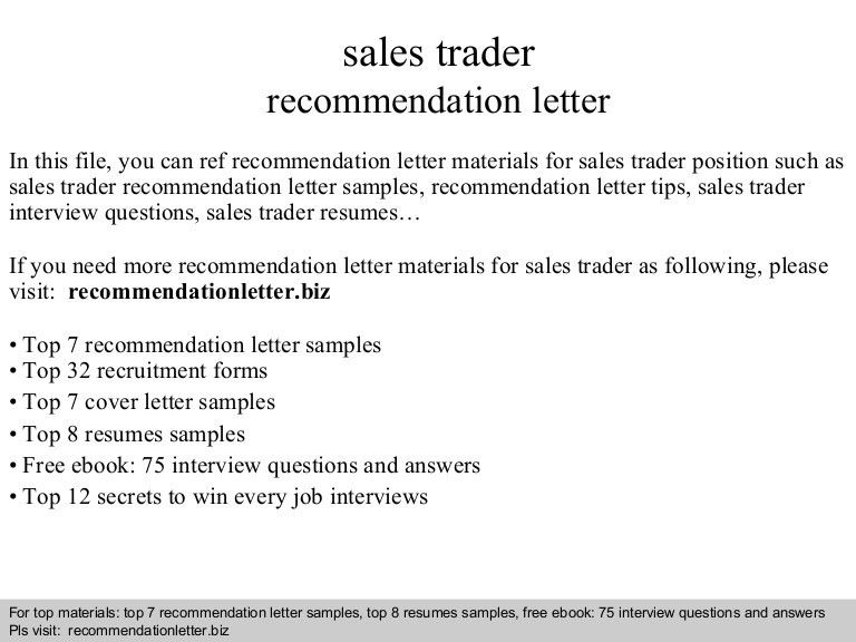 stock resume sample resume cv cover letter. sales and trading ...