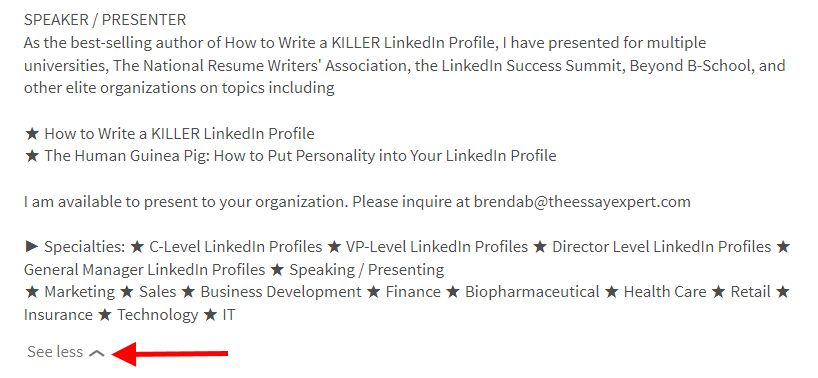 The Incredible Disappearing LinkedIn Profile | Brenda Bernstein ...