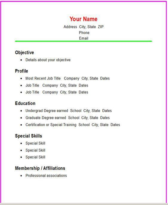 Free Resume Builder For Phones | Professional resumes sample online
