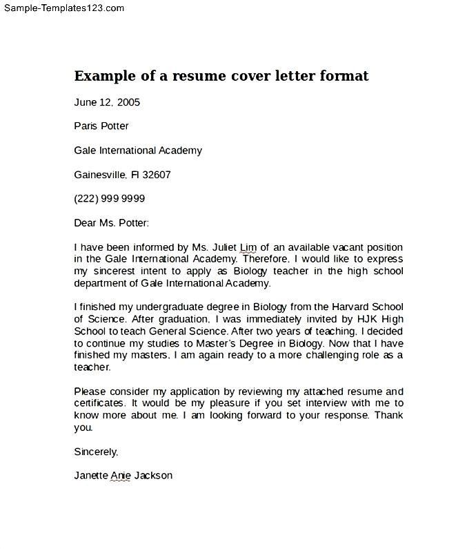 Amazing Searching for Template for Cover Letter