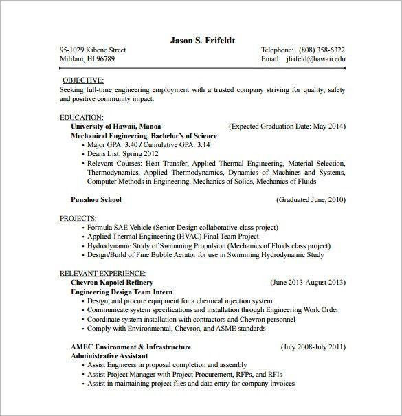 Download Hvac Resume Template   haadyaooverbayresort.com
