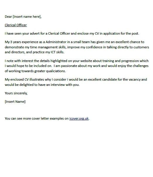 Cover Letter Judicial Clerkship