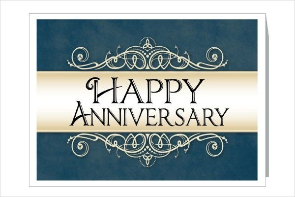 9+ Work Anniversary Cards - Free Sample, Example, Format Download ...