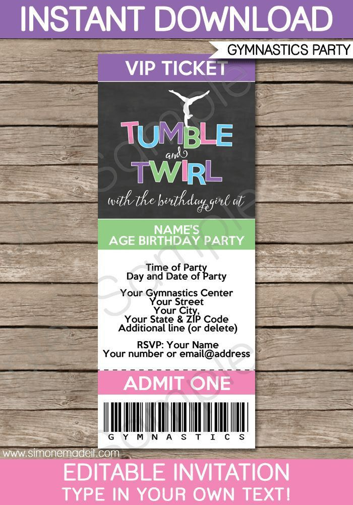 Best 25+ Party tickets ideas on Pinterest | Birthday ideas for ...