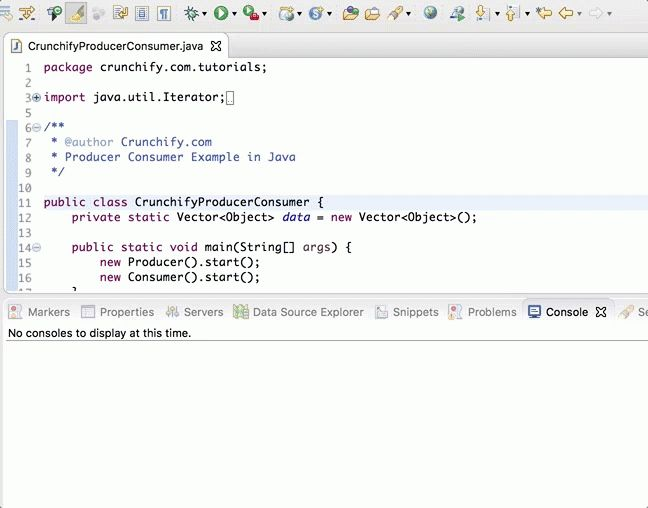 Java: Producer Consumer Example - Handle Concurrent Read/Write ...