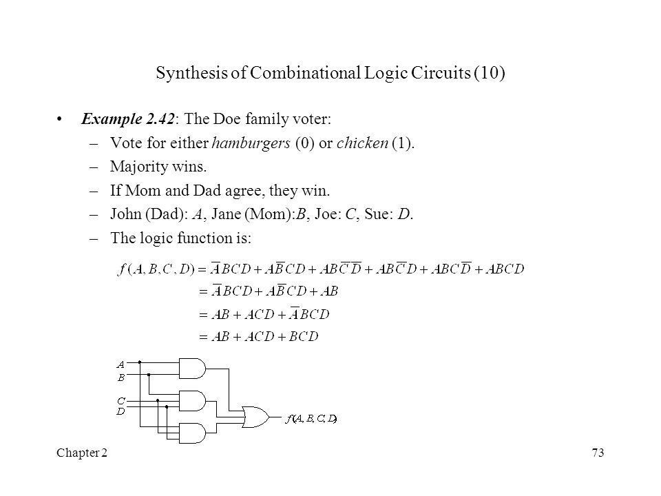 Chapter 21 Chapter 2 Algebraic Methods for the Analysis and ...