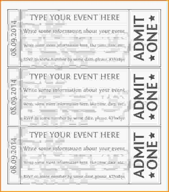 free event ticket template printable - thebridgesummit.co